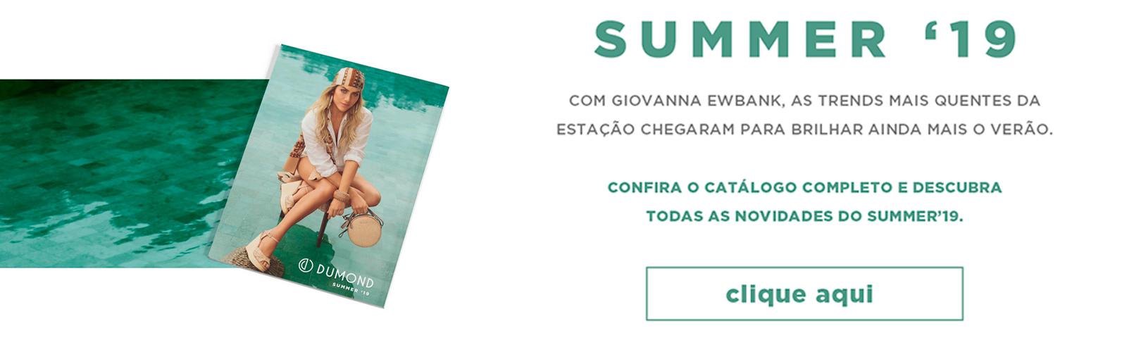 Summer '19 Dumond, conheça as novidades!