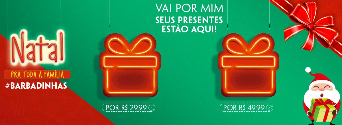 Vai por mim, seus presentes estão aqui! #barbadinhas R$ 29,99  R$ 49,99