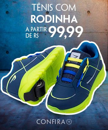 Tênis com Rodinha a partir de R$ 99,99