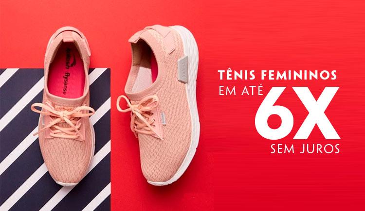 Tênis Femininos em até 6x sem juros