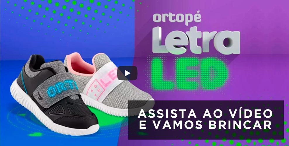 vídeo ortopé letraLED